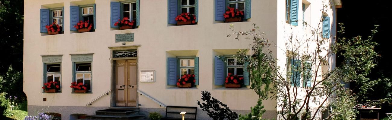 Nietzsche-Haus Foto f Briefkopf GUT-1-3-1